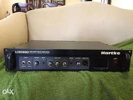 Hartke LH1000 bass amp head, good condition