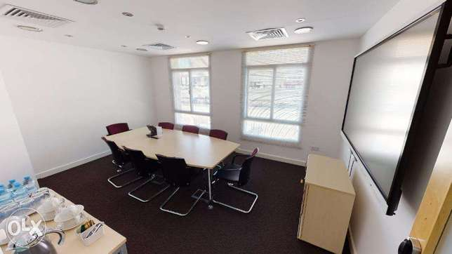 Furnished Shared Office Space from 120 OMR