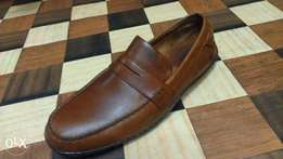 a BORN handcrafted pure leather loafer size 45(UK 11)