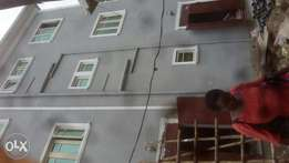 A cute 3bed at alawode off kilo, surulere. 1.2mil 1yr.