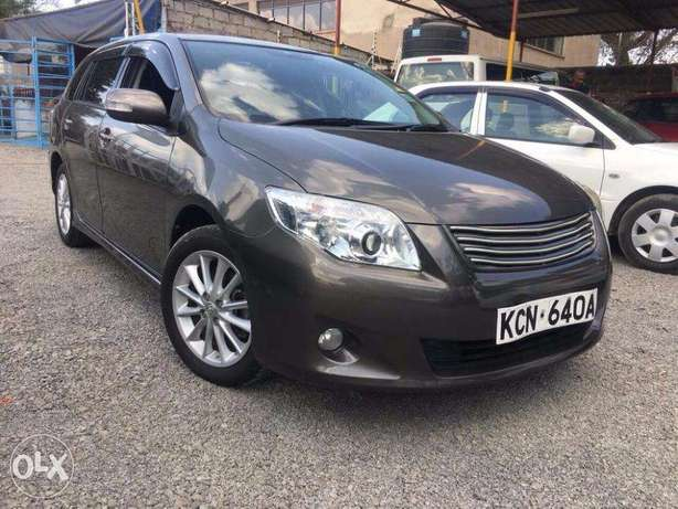Toyota Fielder 2010 Foreign Used For Sale Asking Price 1,370,000/= Lavington - image 1