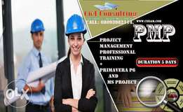 A 5 DAY PMP + Primavera p6 and Ms Project Training (ABUJA, LAGOS & PH)