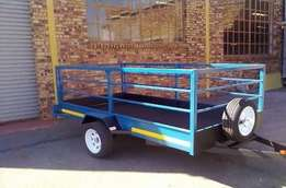 CATTLE AND CARGO Trailers structure fully galvanized