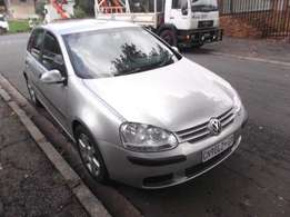 Golf 5 front bumper with grills