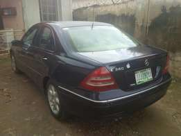 Mercedes benz C240 for a giveaway price