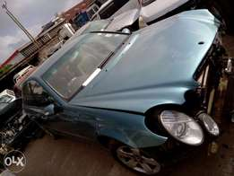 Mercedes Benz kBF with damaged front part