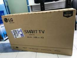 Lg 43Inch 43LJ550V Smart TV WI-FI,brand new and sealed