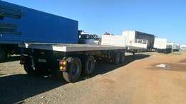 Superlink Flat Deck trailer for sale