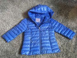 0154bf2677772 Kurtka pikowana róż baby blue szary 74 80 86!