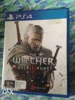 Fairly used witcher 3 in optimum condition