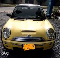 2003 Mini Cooper saloon car