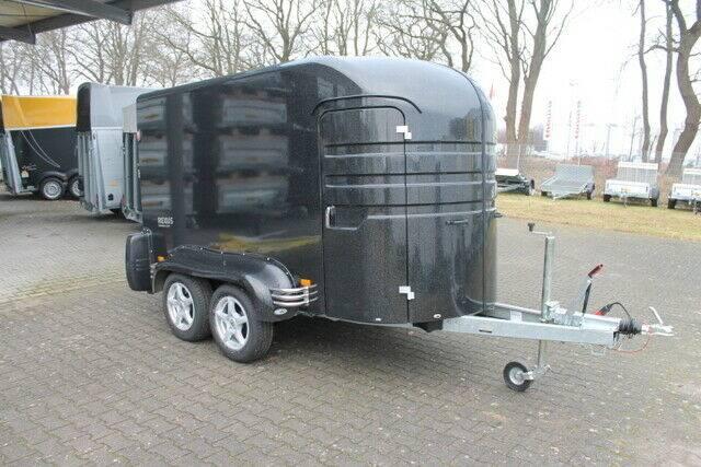 Humbaur Rexus 2,0 T Vollpoly Koffer, 100 Km/h, Alu-Felge