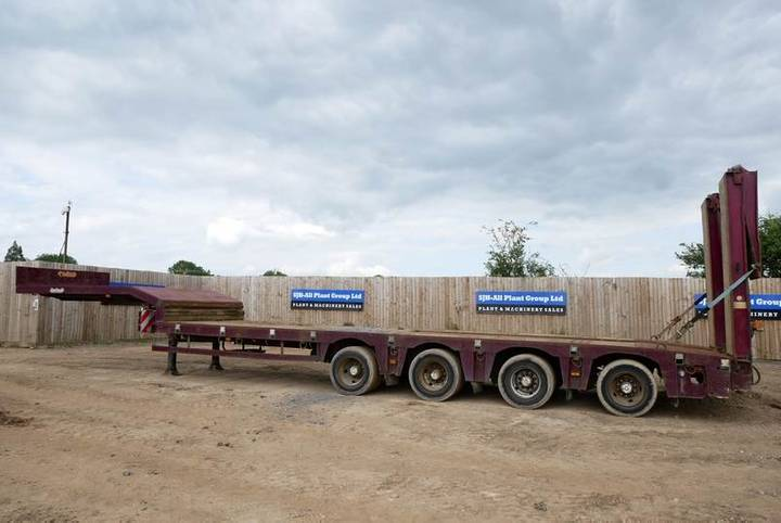Nooteboom Osd-73-04 4 Axle Step Frame Trailer - 2005