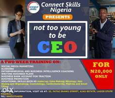 Not Too Young To Be CEO