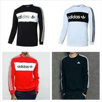 Adidas Sweatshirts in different colors