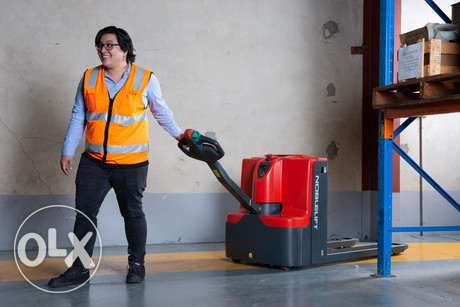 Electric Powered Pallet Trucks for Warehouse Material Movement