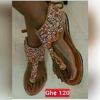 Beaded sandals for sale