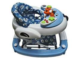 Two in one baby walker/rocker