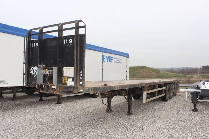 Kel-berg 3 akslet udtræk med containerlåse - 2011