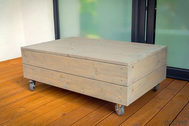 Meble Drewniane Tarasowe Ogrodowe Sofa Stolik Dreme Poduchy