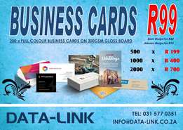Quality Business Cards Designed to Your Liking