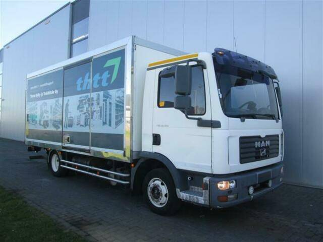 MAN TGL8.180 4X2 BOX UAL - 2007