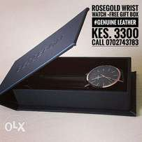 Rose Gold Quality Watch
