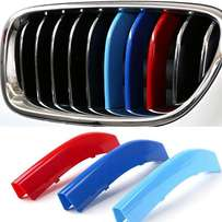 BMW 3 Colors 3D M Front Grille Trim Strips for E90 & other bmw models