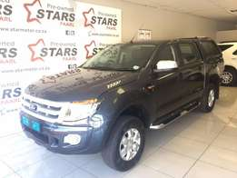 2013 Ford Ranger 2.2 XL D/C Grey With 105000km Get it Now!!