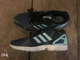 Adidas ZX Flux Original Blue and Green Fade Size 10