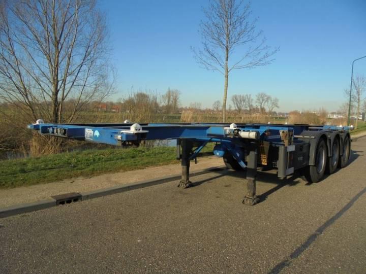 Groenewegen 3-axle 20/30 Ft Tank Chassis / Adr / Bpw / Nl Trailer - 2007