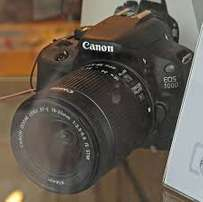 Canon EOS 100 with extra lens