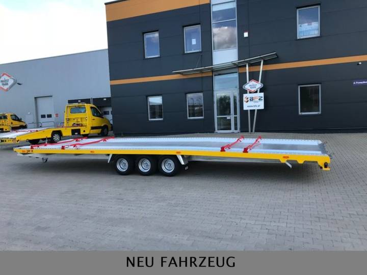 Fahr anhänger in aluminium bfz-35/83 loro für 2 - 2019