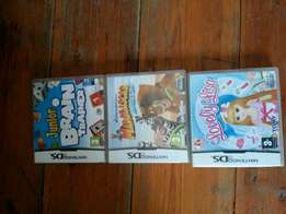 Nintendo DS Lite games 3+