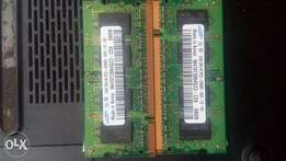 1gig ram in two