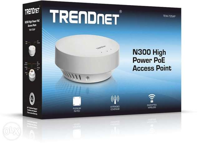 Trendent N300 High Power PoE Access Point