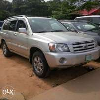 2005 Toyota Highlander 3rows Registered For Sale
