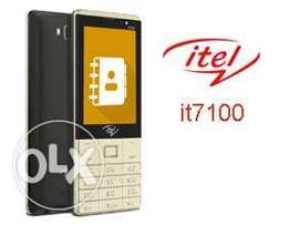 Itel it 7100 3g with 3.2 screen