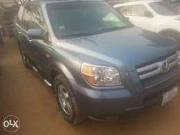 6 month used honda pilot 2007 fuloption tincan cleared