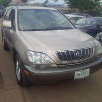 Less than 8month Used Lexus RX300, 2002. Very OK