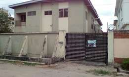 Lovely block of 4flat of 3bedrooms flat each at ago palace way Okota