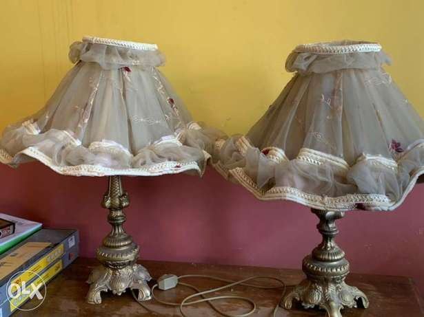 Egyptian lamps for sale!