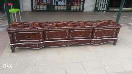 Marble top royal t.v console