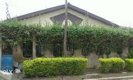 5bedroom bungalow, self compound at onikolobo