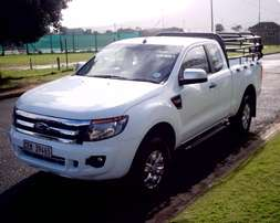 2012 Ford Ranger 6 Speed Manual 3.2 TDCi 4x2 XLS Supercab