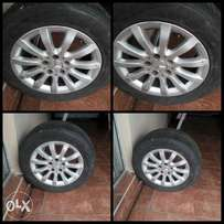 Merc Rims and Tyres