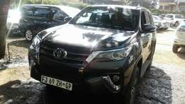 Toyota fortuner 2016 model, KCLbrand new, terms
