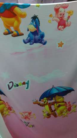 Sheer curtain fabric with cartoon characters Nairobi CBD - image 4