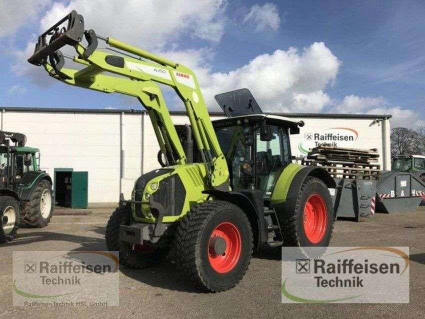 Claas arion 650 - 2015
