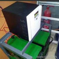 3.5kva inverter with 4 batteries
